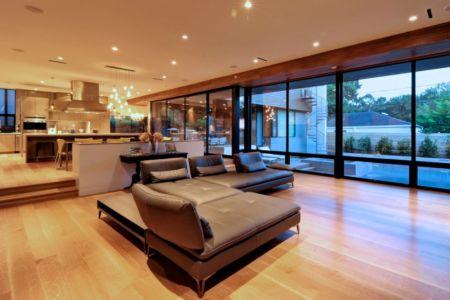 salon - Underwood House par StudioMET - Houston, Usa