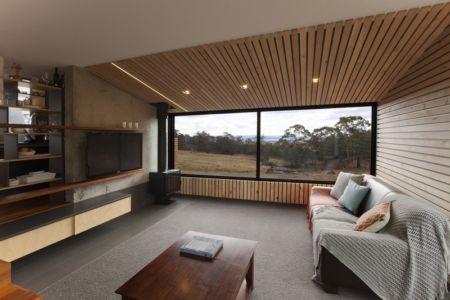 salon - Valley House par Philip M Dingemanse - Launceston, Australie