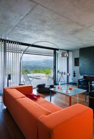 salon - Villa Nalu par Pascal Goujon - Alpes-Maritimes, France