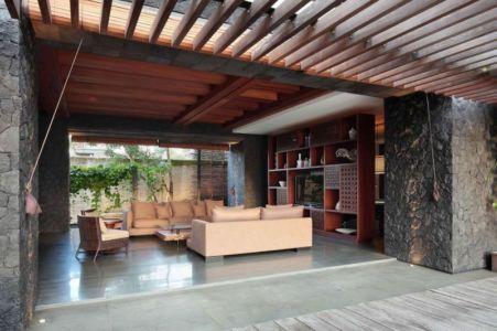 salon - Villa Pecatu par Wahana Cipta Selaras - Pecatu, Indonésie