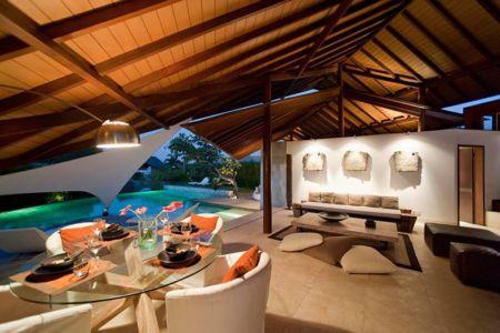 salon - Villas-Spa par Layar Designer - Bali, Indonesie