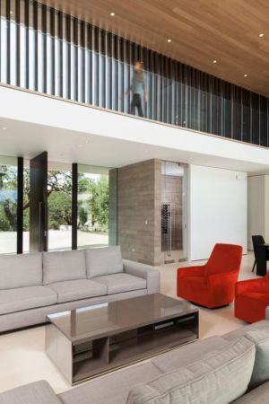 salon - Vineyards-Residence par Swatt Miers Architects - Californie, USA