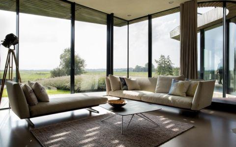 salon - W.I.N.D House par UNStudio - Pays-Bas