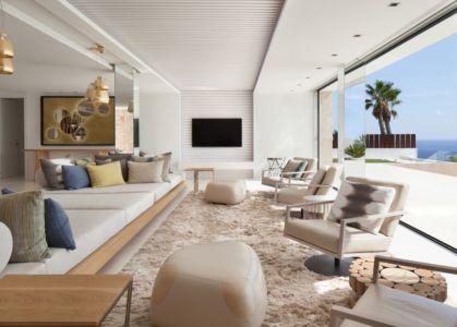 salon & écran TV - ocean-home par SAOTA - Ibiza, Espagne