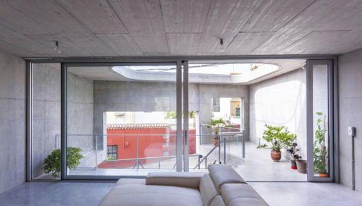 salon étage - g-house par Esau Acosta - El Sauzal, Espagne