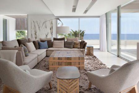 salon étage & grande baie vitrée - ocean-home par SAOTA - Ibiza, Espagne