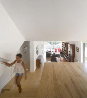 salon & bibliothèque - house-caxias par António Costa Lima Arquitectos - Caxias, Portugal