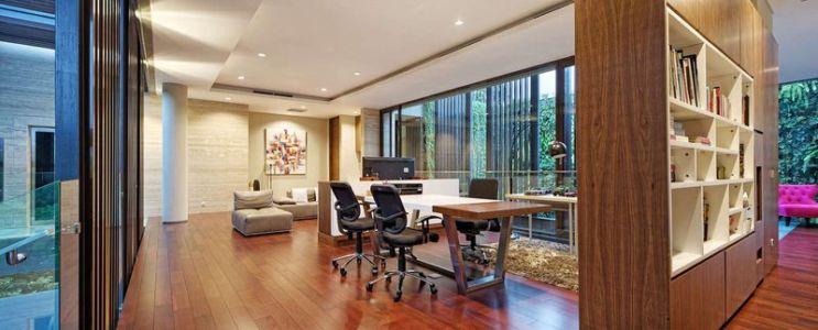 salon & bureau - Ben House-GP par Wahana Architects - Jakarta, Indonésie