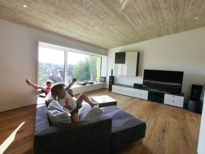 salon & coin TV - House-Wilhermsdorf par René Rissland - Wilhermsdorf, Allemagne