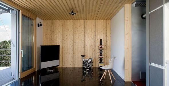 salon & coin TV - Spaceship Home par Noem Spaceship - Madrid, Espagne
