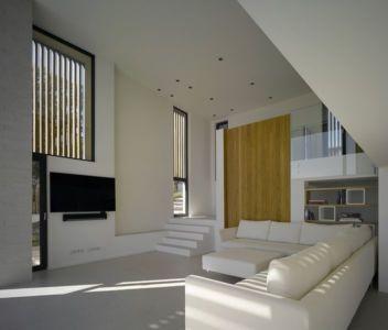 salon & coin TV - Villa-Brash par Jak Studio - Saint-Tropez, France