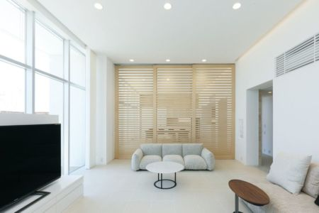 salon coin TV - YAM par ks-architects - Nagoya, Japon