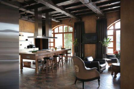 salon & cuisine - Residence-BO par Baraban+design studio - Kiev, Ukraine