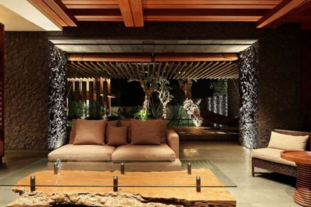salon de nuit - Villa Pecatu par Wahana Cipta Selaras - Pecatu, Indonésie