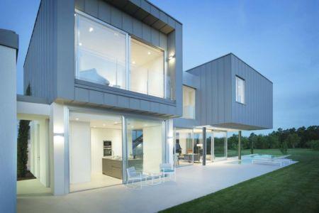 salon design terrasse - Z-Balca-House par Lagula Arquitectes - Espagne