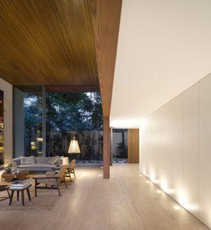 salon entrée - Tetris House par Studio mk27 - São Paulo, Brésil