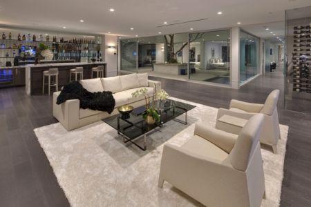salon et bar - Carla Ridge par McClean Design - Beverly Hills, Usa