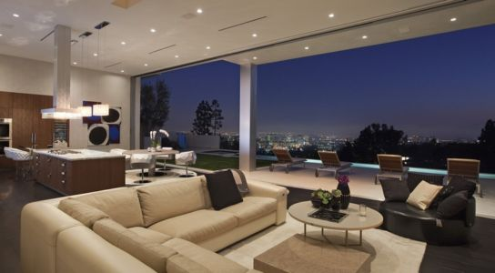 salon et panorama - Sarbonne par McClean Design - Los Angeles, Usa