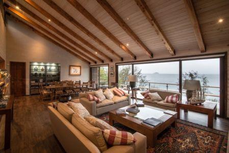 salon et séjour - ED House par Eduardo Guzmán Rivera + Juan Carlos Muñoz Del Sante - Chili