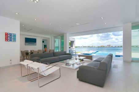 salon et séjour - Gross-Flasz Residence par One d+b Miami - Harbor Island, Usa