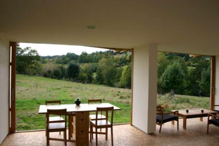 salon et séjour - Maison dans la prairie par Arba - Montreuil, France