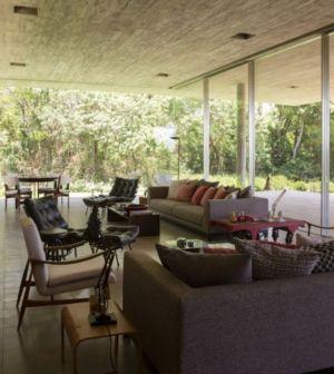 salon et séjour - Redux House par Studio mk27 - Brésil