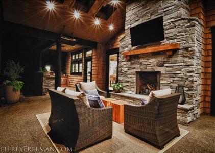 salon extérieur - Maison typique par TTM Development company - Portland, Usa