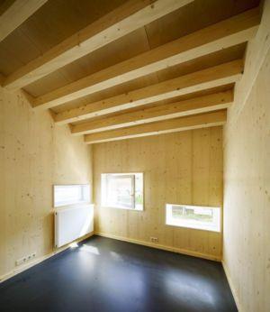 salon & ouvertures vitrées - Biobased-Living-Concept par DDacha - Pays-Bas
