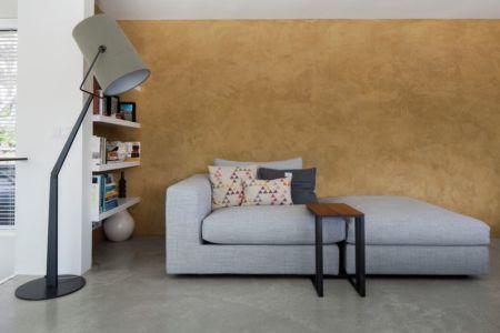 salon & petite bibliothèque - Watervilla par +31ARCHITECTS - Amsterdam, Pays-Bas