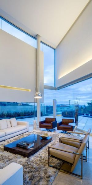 salon principal - Club-Residence par Migdal Arquitectos - Mexico, Mexique