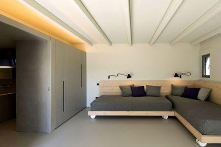 salon - résidence exclusive par Z-Level - île Kios, Grèce