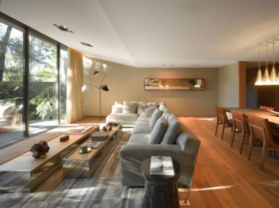 salon & séjour - Barrancas House par Ezequielfarca Architecture & Design - Mexico, Mexique