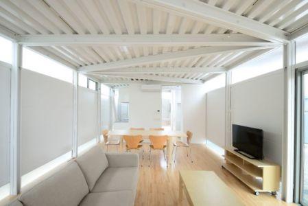 salon & séjour - Boundary House par Niji Architects - Tokyo, Japon