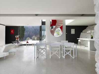 salon & séjour - Casa Farfalla par Michel Boucquillon - Toscane, Italie