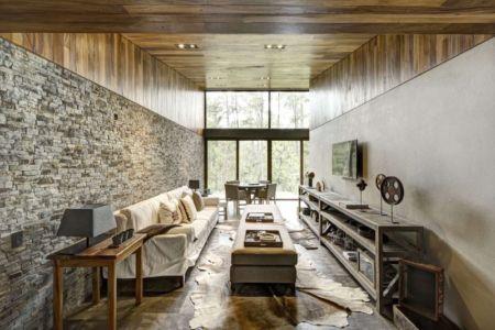salon séjour - Casa MM par Elías Rizo Arquitectos - Mexique