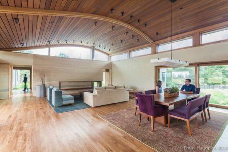 salon & séjour - Farm-House par William McDonough + Partners - Californie, USA