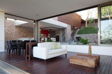 salon & séjour - Garden-House par Cincopatasalgato - El Salvador