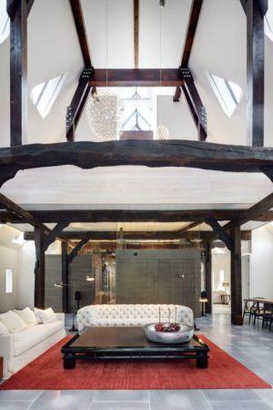 salon & séjour - German-Country-House par Reichel Architectes - Allemagne