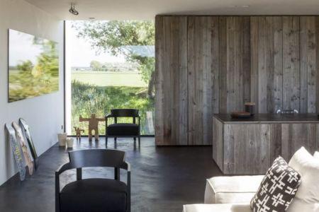 salon & séjour - Graafjansdijk-House par Govaert & Vanhoutte Architects - Belgique