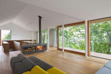 salon & séjour - Hillside-Home par Multiplan Arhiteki - Ljubljana,Slovénie