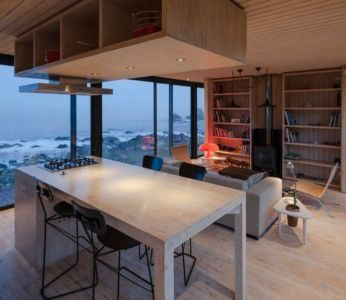 salon & séjour - Remote-House par Felipe Assadi - Pichicuy, Chili