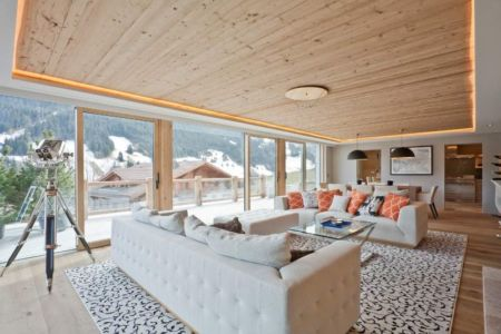 salon & séjour - Rougemont-Residences Plusdesign - Rougemont, Suisse