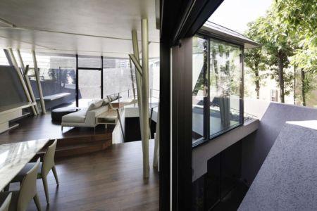 salon & séjour - SRK par Artechnic - Meguro, Japon