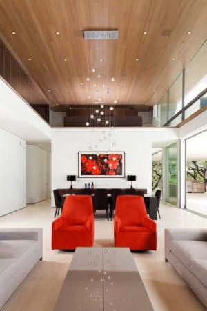 salon & séjour - Vineyards-Residence par Swatt Miers Architects - Californie, USA
