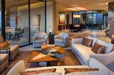 salon & séjour - desert-residence par Shelby Wilson - Arizona, USA