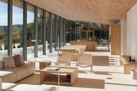 salon, séjour et cuisine - Alon House par AABE et Partners -France