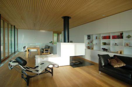 salon & séjour - house-dornbirn par KM Architektur en Suisse