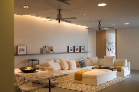 salon & séjour - luxury residence par Ezequiel Farca - Marina de Puerto Vallarta, Mexique