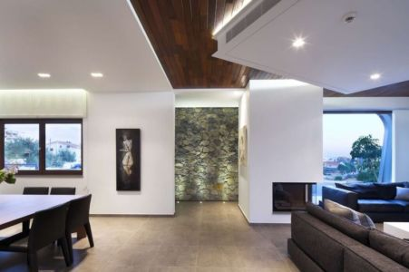 salon & séjour - tsikkinis par Tsikkinis Architecture Studio - Limassol, Chypre