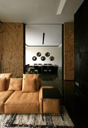salon & salle à manger - desert-rose par Massimiliano Camoletto - Koweit.